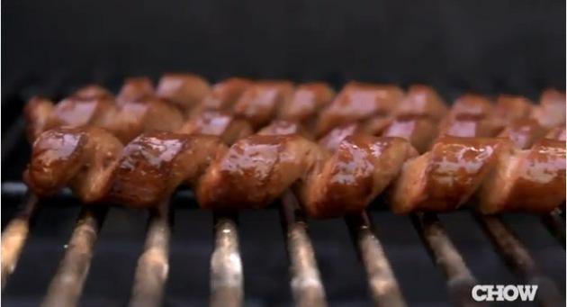 The spiral hot dog