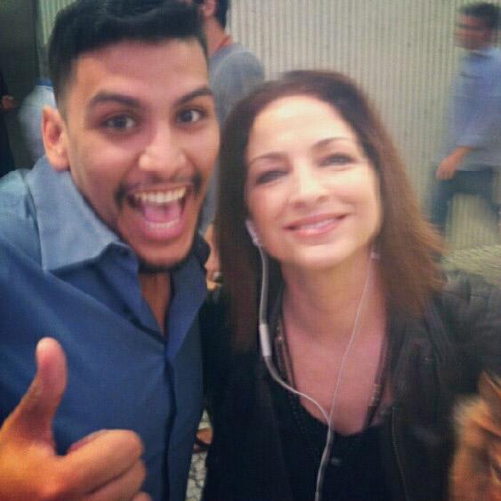 Babalu Superstar Osmar with Gloria Estefan