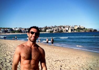 Taken on Bondi Beach, Sydney.