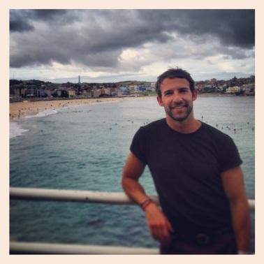 Grey, but nonetheless beautiful Bondi Beach