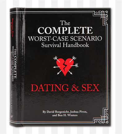 The Complete Worst Case Scenario Survival Handbook Dating & Sex is available in-store at Babali Miami.